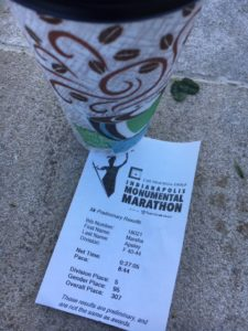 monumental 5K finish