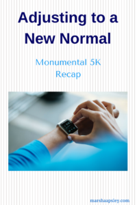 Monumental 5K 2017 race recap