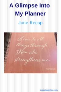 June 2018 recap