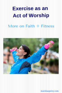 exercise an act of worship