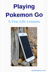Lessons from playing Pokemon Go